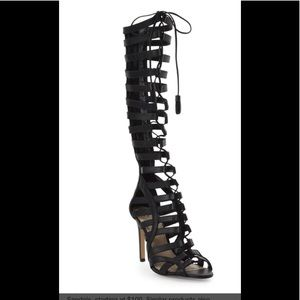 Firm price Vince Camuto Olivian Gladiator heels